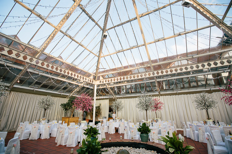 Conservatory Bohemian Floral Vineyard Wedding http://albertpalmerphotography.com/