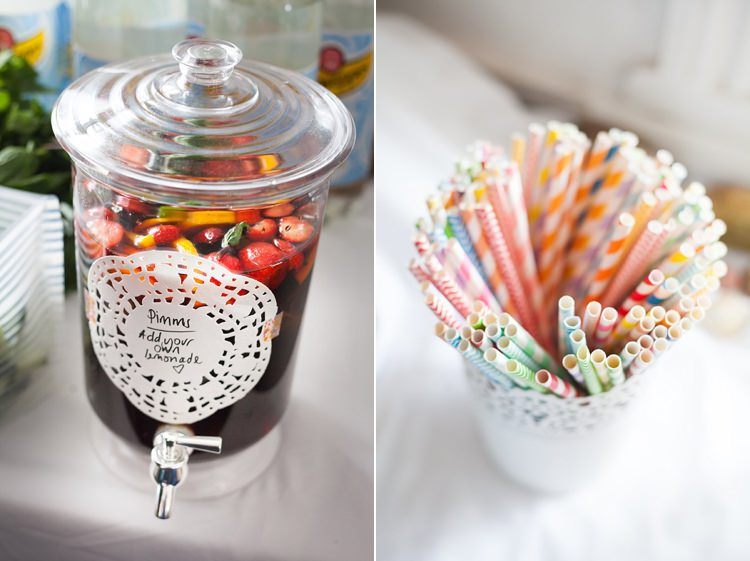 Drinks Bright Fresh Mexican Inspired Wedding http://www.photographybykatie.co.uk/