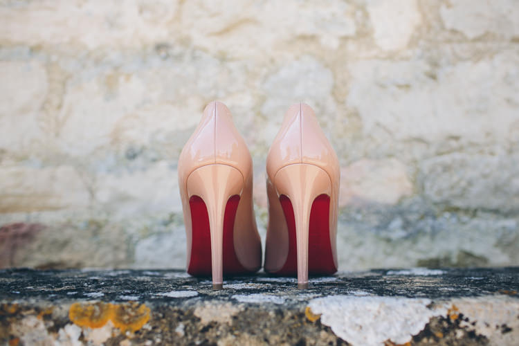 Nude Pigalle Christian Louboutin Shoes Heels Bride Bridal Great British Tea Party Wedding http://www.kategrayphotography.com/