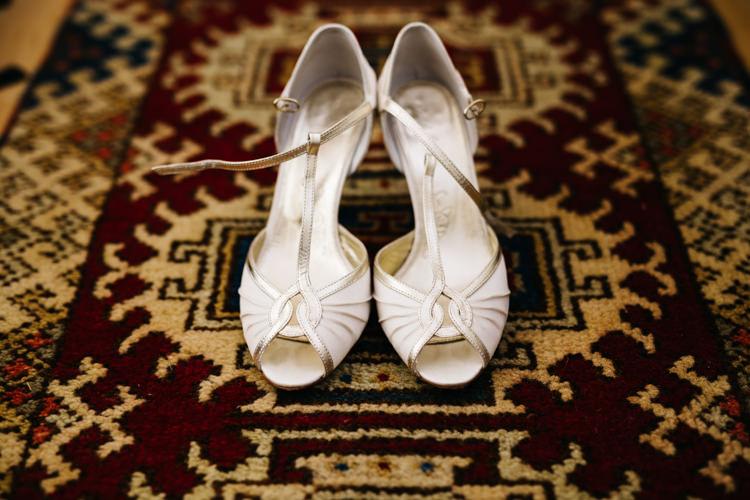 Rachel Simpson Peep Toe Shoes Heels Bride Bridal Relaxed DIY Pastel Wedding http://www.honeyandthemoonphotography.co.uk/