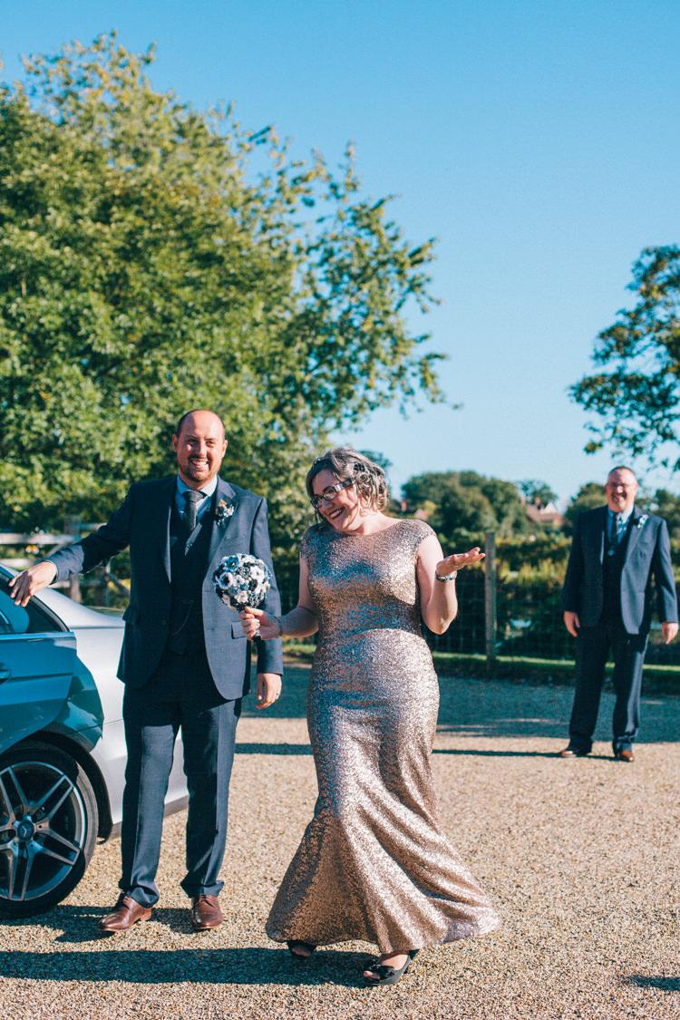 Gold Sequin Dress Bride Bridal Crafty Rainbow Crochet Wool Wedding http://katherinemager.com/