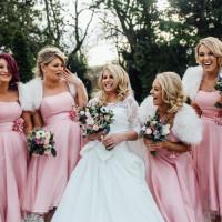 Pink Winter Wonderland Wedding http://www.struthphotography.com/