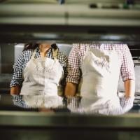 Cooking Chef Engagement Shoot http://www.Jennifervanelk.com
