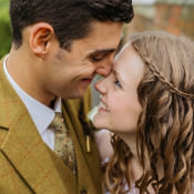 Autumn Literary Feel Hand Made Wedding