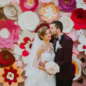 Pink & Gold Wedding in Romania
