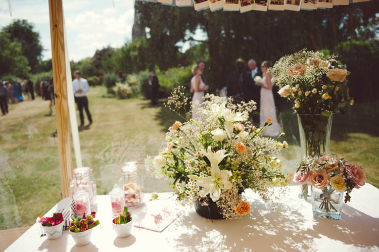 Mint Gold Peach Summer Marquee Wedding http://elizaclaire.com