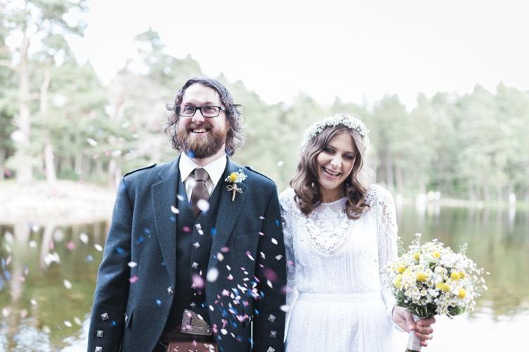 Bohemian Loch Pine Forest Wedding http://solenphotography.co.uk/