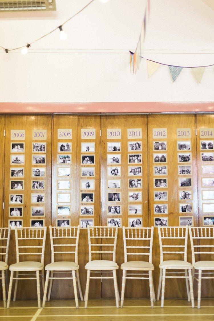 Photo Wall Bohemian Loch Pine Forest Wedding http://solenphotography.co.uk/