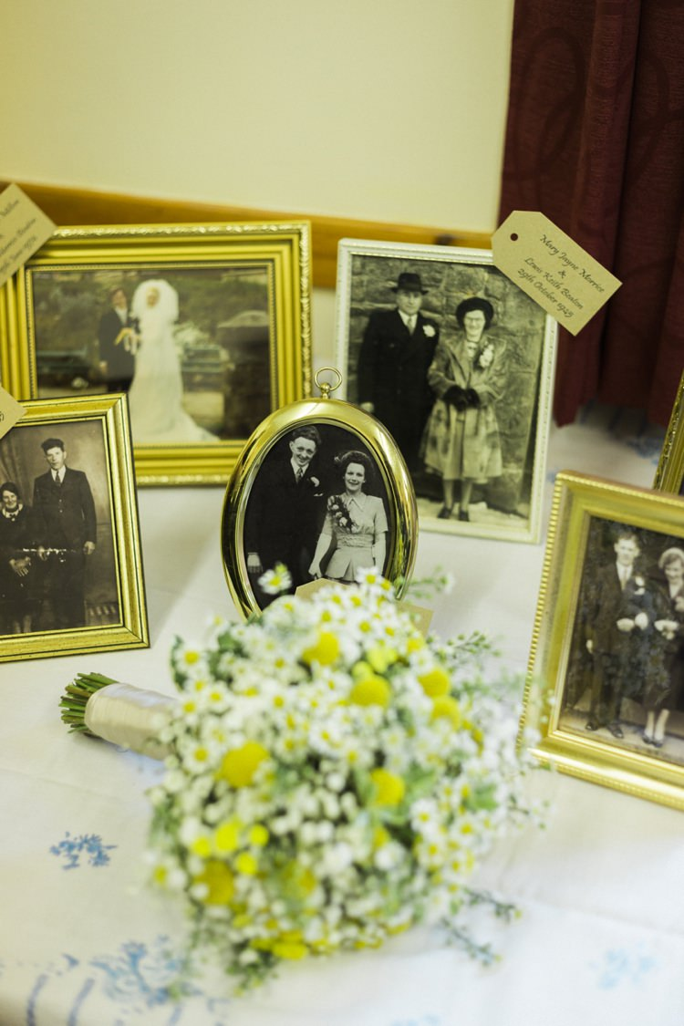 Family Photograph Table Bohemian Loch Pine Forest Wedding http://solenphotography.co.uk/