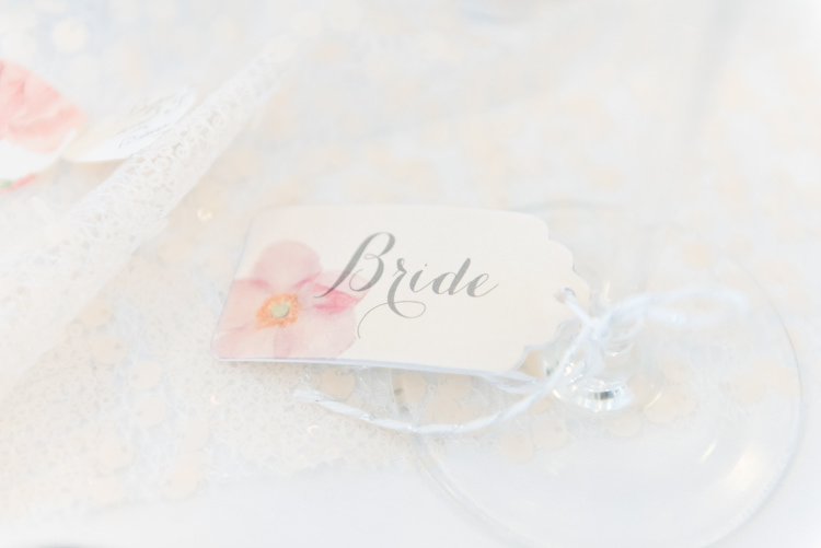 Luggage Tag Place Names Pretty Pastel Sparkly Wedding https://www.georgimabee.com/