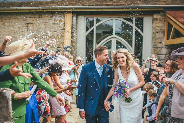 Hannah & Alex. With permission- The Real Flower Petal Confetti Company