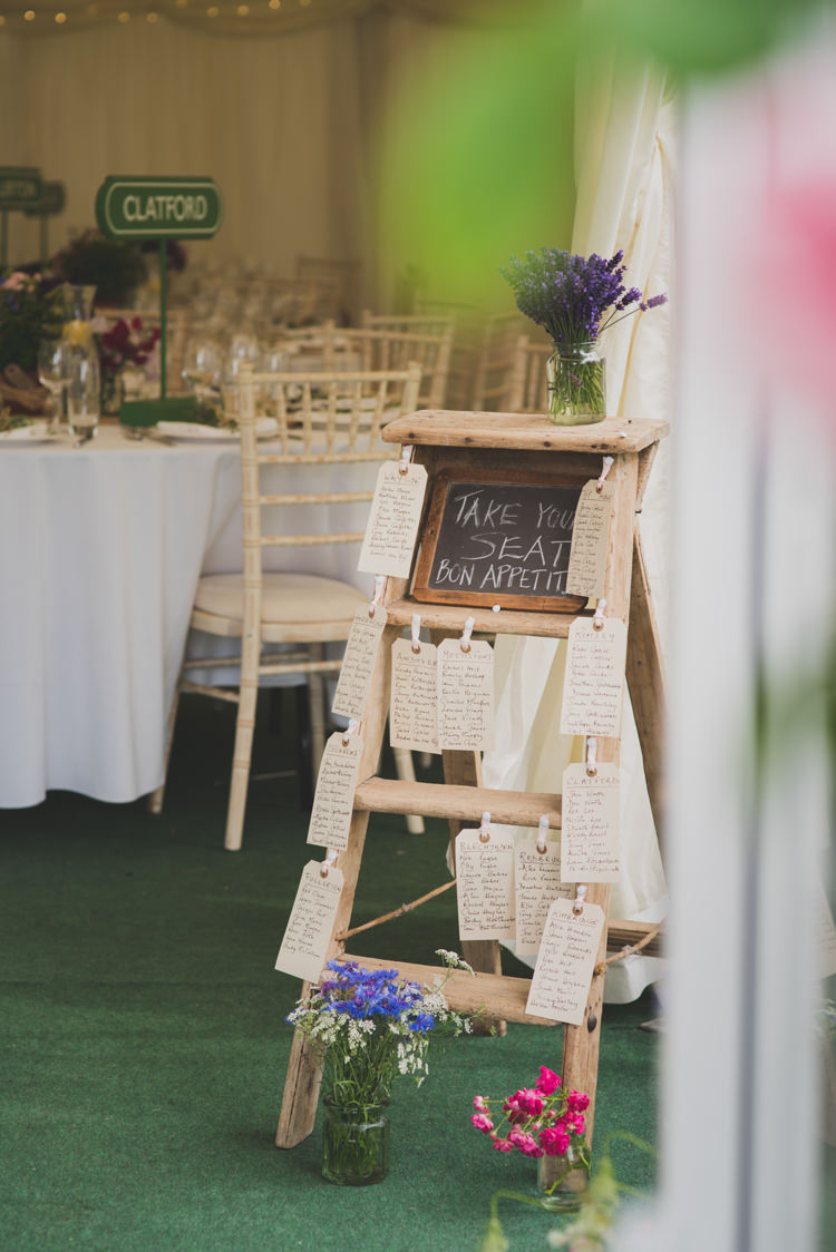 Ladder Seating Plan Table Chart Flowers Victorian Railway Station Wedding http://annamorganphotography.co.uk/
