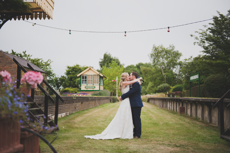 Victorian Railway Station Wedding http://annamorganphotography.co.uk/