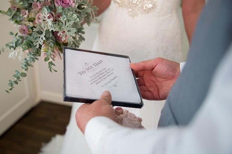 Gift Dad Handkerchief Pastel Country Garden Wedding http://www.katherineashdown.co.uk/