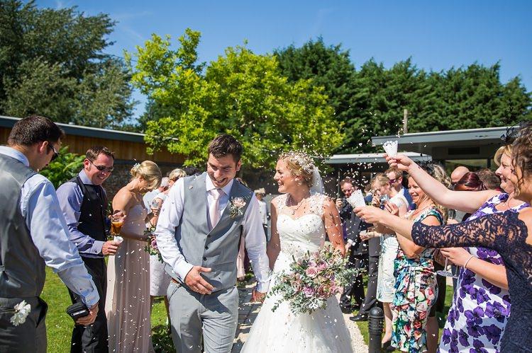 Confetti Throw Pastel Country Garden Wedding http://www.katherineashdown.co.uk/