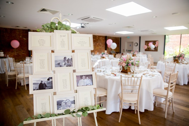 Frame Seating Table Plan Chart Pastel Country Garden Wedding http://www.katherineashdown.co.uk/