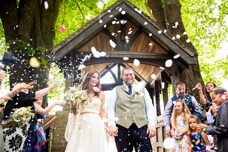 Confetti Throw Natural Soft Stylish Luxe Wedding http://www.katherineashdown.co.uk/