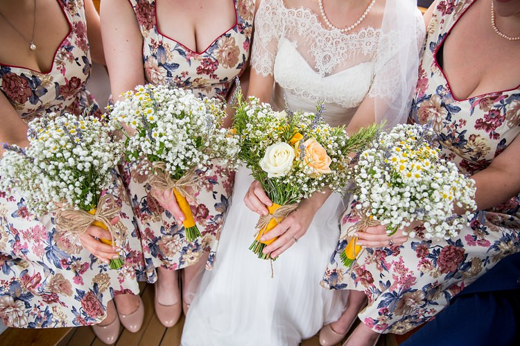Floral Mustard Boathouse Wedding http://www.katherineashdown.co.uk/