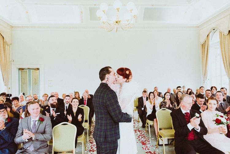 Alternative Vintage Glamorous Wedding www.photo.shuttergoclick.com