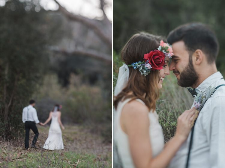 Hip Bohemian Styled Elopement http://www.kylieraephotography.com/