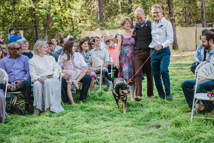 Enchanting Farmer's Wedding in the Forest
