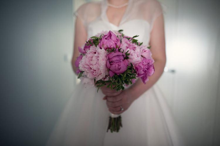 Bouquet Peony Bride Bridal Bright Fun Pink Peonies Wedding http://assassynation.co.uk/