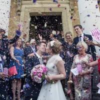 Bright Fun Pink Peonies Wedding http://assassynation.co.uk/