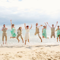 Informal Hand Made Beach Wedding http://www.lydiastampsphotography.com/