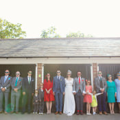 Fresh & Fun Rainbow Garden Wedding