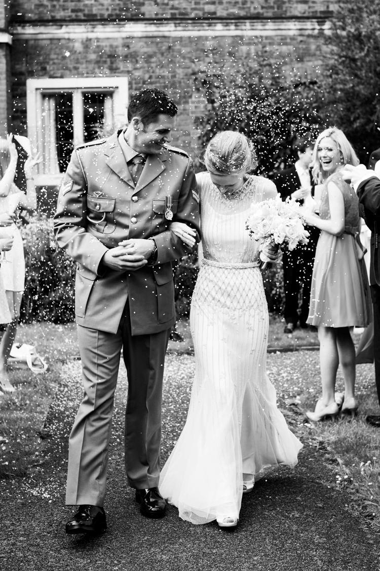 Confetti Throw Classic Spring Yellow Wedding http://natashahurley.com/