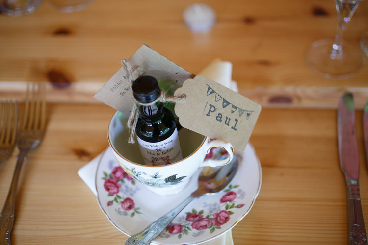 Tea Cup Favours Place Setting Name Country Fete Garden Festival Wedding http://sharoncooper.co.uk/