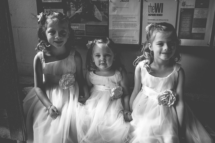 Flower Girls Dresses Origami Books Barn Wedding http://storyandcolour.co.uk/