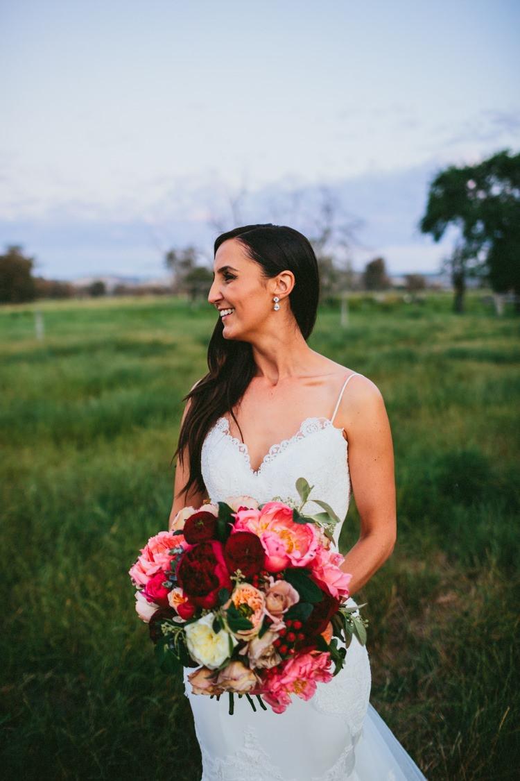 Long Hair Bride Bridal Whimsical Barn Wedding Australia http://throughthewoodsweran.co.uk/