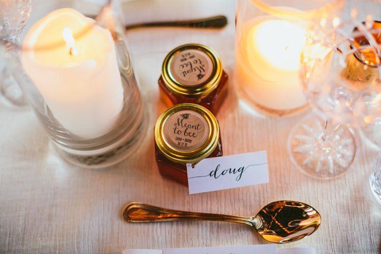 Honey Favours Whimsical Barn Wedding Australia http://throughthewoodsweran.co.uk/