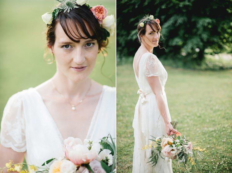 Laid Back Bohemian Festival Wedding http://benjaminmathers.co.uk/