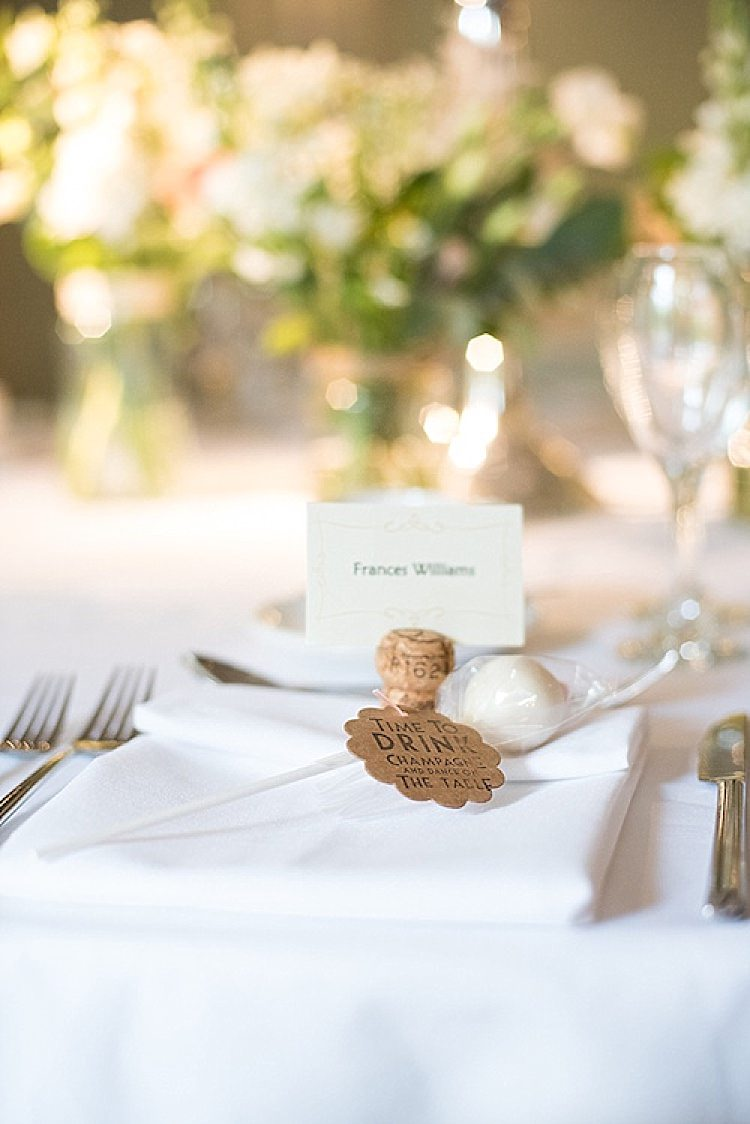 Cork Place Name Cake Pops Setting Beautiful Country House Wedding http://www.fionasweddingphotography.co.uk/