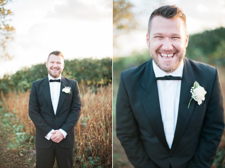 Tuxedo Groom Bow Tie Country Glamour Black Wedding Capturedbykatrina
