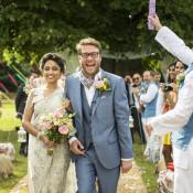 Fun Glittery & Colourful Outdoor Wedding