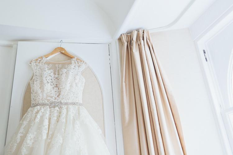 Ronald Joyce Dress Gown Bride Bridal Intimate Outdoor Isle of Skye Wedding http://sarahbethphoto.co.uk/