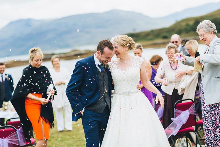Confetti Intimate Outdoor Isle of Skye Wedding http://sarahbethphoto.co.uk/