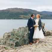 Intimate Outdoor Isle of Skye Wedding