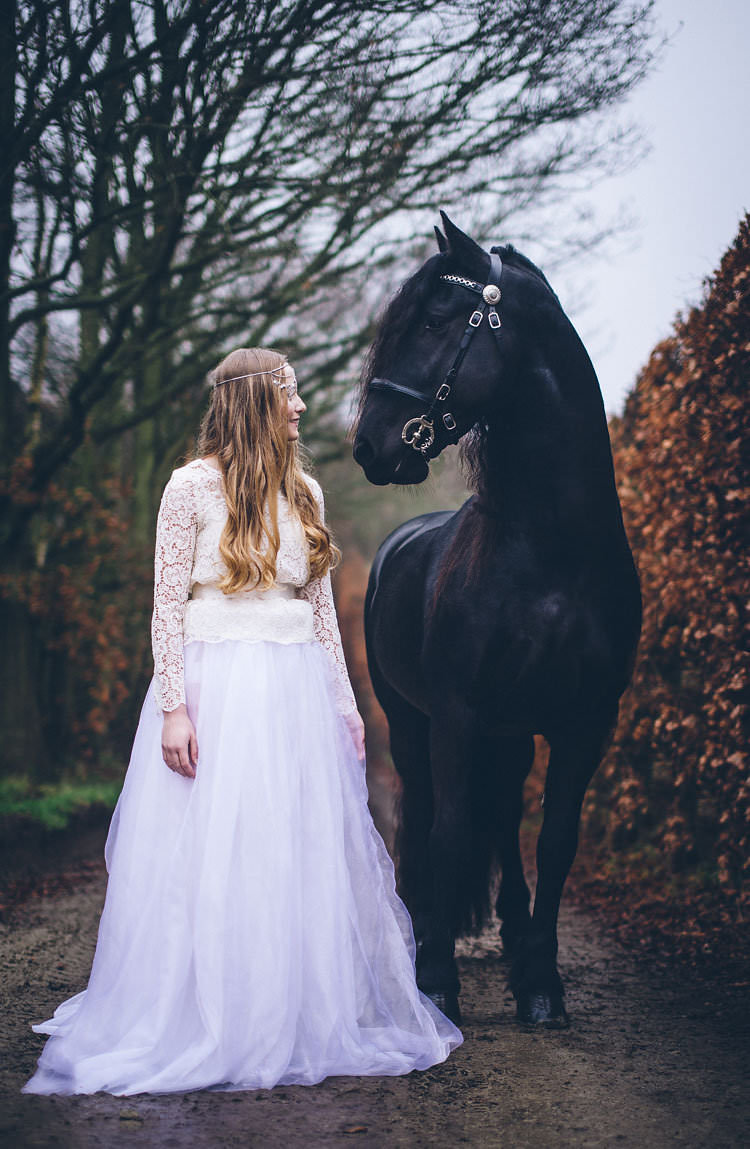 Magical Dark Fairytale Wedding Ideas | Whimsical Wonderland Weddings