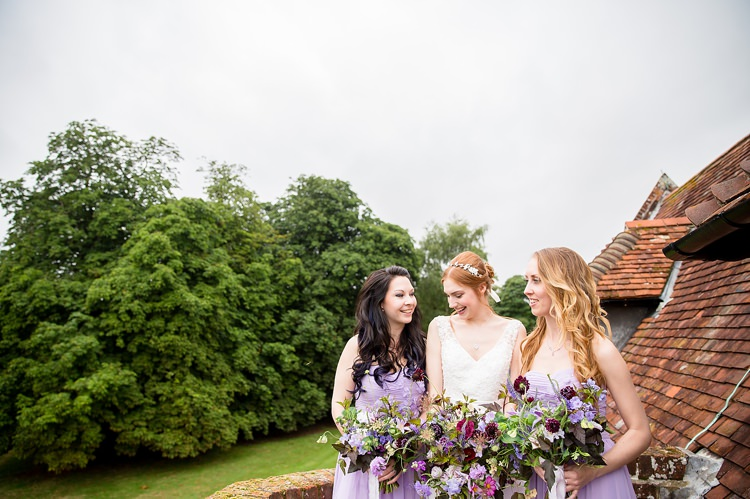 Lilac Bridesmaid Dresses Natural Ethereal Purple Wedding http://www.katherineashdown.co.uk/