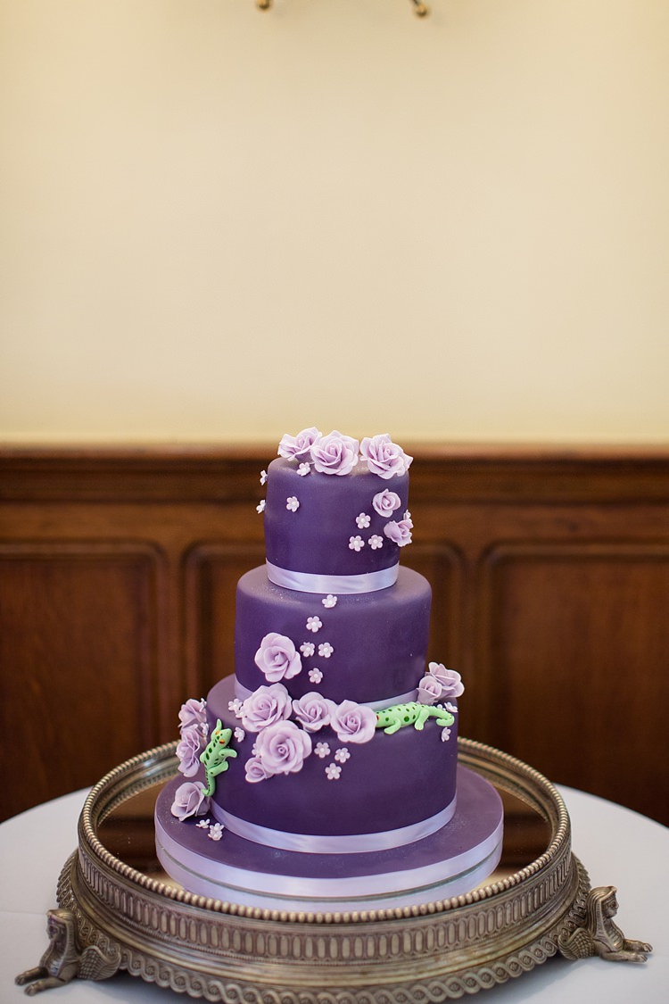 Cake Flowers Natural Ethereal Purple Wedding http://www.katherineashdown.co.uk/