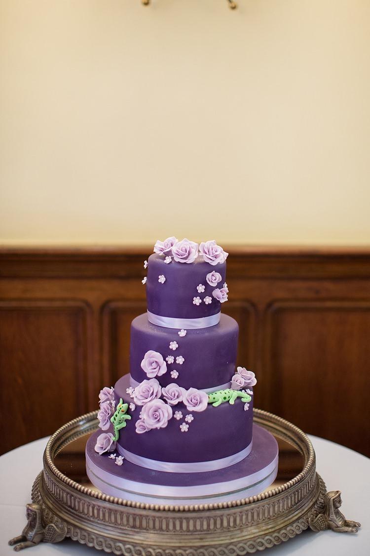Cake Flowers Natural Ethereal Purple Wedding http://www.katherineashdown.co.uk/