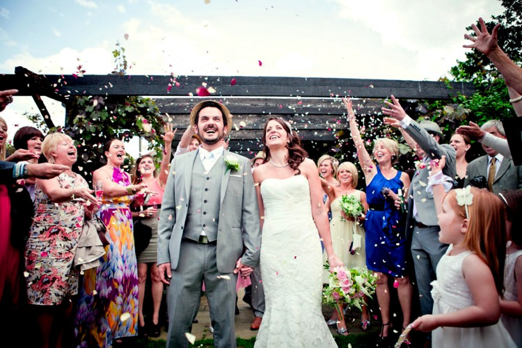 Donna & Daniel. With permission- The Real Flower Petal Confetti Company