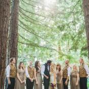 Fantastical Woodland Renaissance Wedding in California