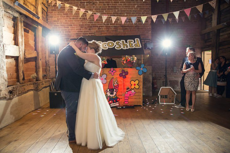 Disco Shed Wed Eclectic Cool Barn Wedding http://assassynation.co.uk/