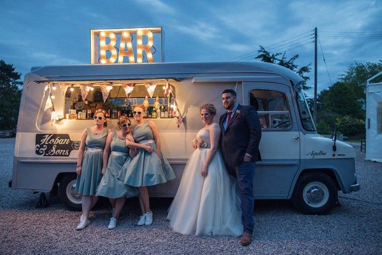 Bar Van Light Up Eclectic Cool Barn Wedding http://assassynation.co.uk/