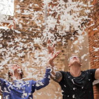 Pillow Fight Engagement http://www.faithdwightphotography.com/